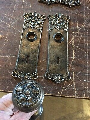 H 11 7 Full Sets Cast-Iron Passage Sets Hardware Decorative With Extras