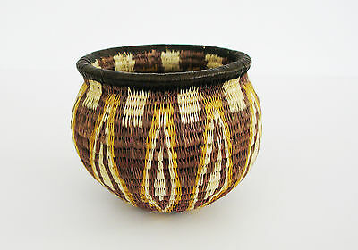 Small Hand Woven Basket made in Panama