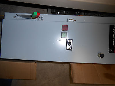 Ge Ftnsc**Tz Combination Motor Starter Nema 1 Enclosure