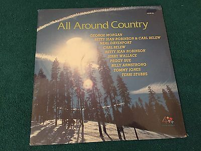 All Around Country Various Artists Album SEALED NEW LP George Morgan Carl Belew