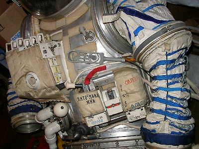 Set 3pcs Soviet Russia Space Program Part of the outer skin of Orlan Space suit