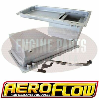 Aeroflow Fabricated Conversion Rear Hump Sump Oil Pan Holden Ls Ls1 Ls2 Ls3 V8