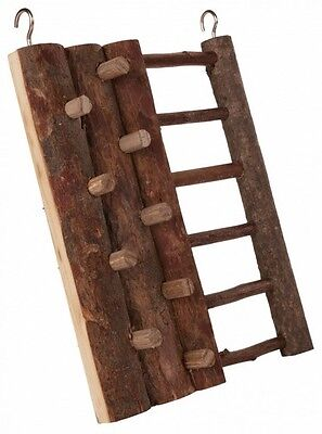 Hamster Toy CLIMBING WALL & LADDER Real Wood Wooden Toy Mouse Gerbil etc 16×20cm