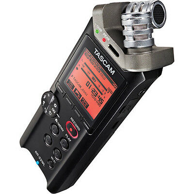 Tascam DR-22WL 2 Channels Portable Handheld Audio Voice Recorder w/Wi-Fi +4GB SD