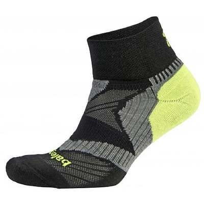 Balega Enduro Quarter Black/Grey/Neon Yellow