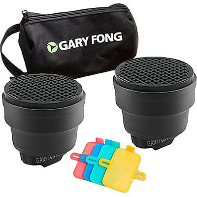 Gary Fong Dramatic Lighting Kit, Includes Speed Snoot, Gel Filter Set, Gear Bag