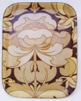 Lovely Vintage Abstract Design Fibreglass Tray 1970's
