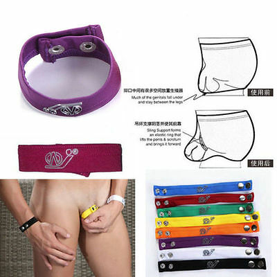 Men's Scrotum Ring Underwear Thong Bracelet Mention C-strap Fashion Gift Male e