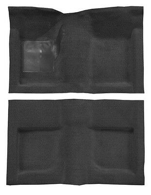 NEW! 1964-1968 Ford Mustang BLACK Carpet Set Front, Rear COUPE HARDTOP 100%