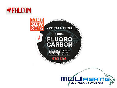 NYLON FALCON SPECIAL TUNA 100% FLUOROCARBON 50m COLORE CHAMPAGNE BIG GAME DRIFTI