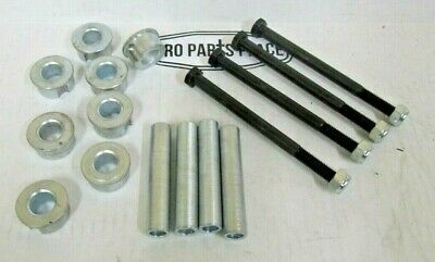 4 Sets Bush Hog Bushhog 62574 Bushing And 85398 Bushing Inserts For Solid Tires