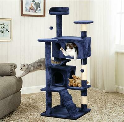 New Cat Kitten Tree Tower Post Toy Condo Scratch Post Pet House Play