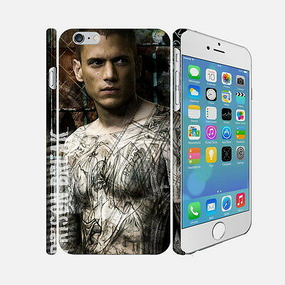 30 Prison Break - Apple iPhone 4 5 6 Hardshell Back Cover Case