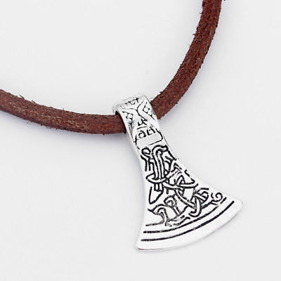 5 x Large Tibetan Silver Celtic Axe Head Charms Pendants 43mm Jewellery Making