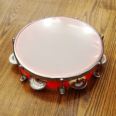 Handmade Tambourine Dafali Drum Musical Instrument Percussion Toy Gift Party