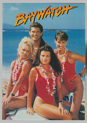 Baywatch 4x $5 Phonecard Collection - PacificNet Australia