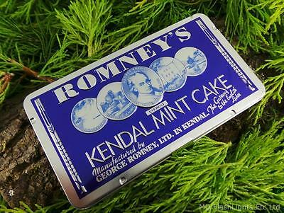 Romney's Kendal Mint Cake 170G Collectors Edition Tin Bushcraft Survival Hiking