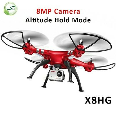 Syma X8HG Drones With 1080P Camera High Hold Mode 2.4G 4CH 6Axis RC Quadcopter