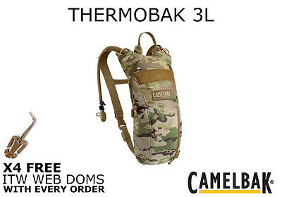 New 2016 Camelbak 3 Litre Mulitcam Thermobak Hydration Pack 100oz Mil-Spec