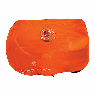Lifesystems Survival Shelter for 4 people for Hiking / Kayak / Safety / Rescue