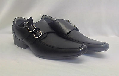 6 12 Pairs Mens Black Slip On Shoes Smart Work Formal Causal Joblot New Job Lot
