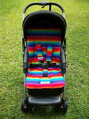 *STRIPES,STUNNING*universal stroller,pram,car seat liner set *NEW*