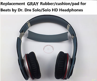 Replacement headband rubber cushion pad for by Dr. Dre Solo & Solo HD repair