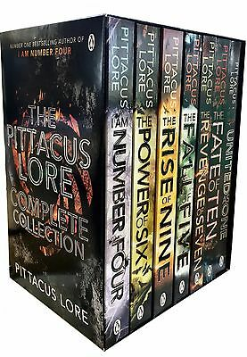 Pittacus Lore Collection Lorien Legacies Series 7 Books Box Set United As One