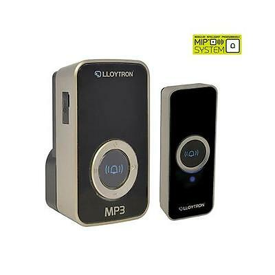 Lloytron B7525 Digital MP3 Plug-in Wireless Door Chime With MiPs Doorbell System