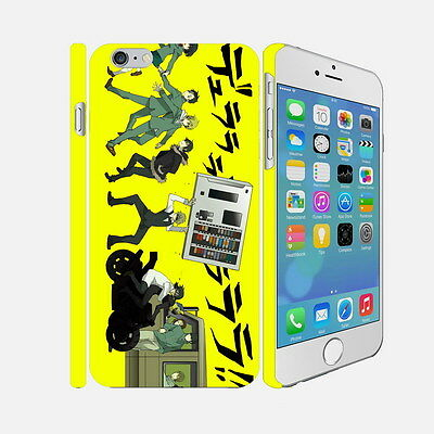 F105 Durarara - Apple iPhone 4 5 6 Hardshell Back Cover Case