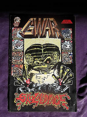 Gwar Comic Book Graphic Novel Skulhedface Oderus Urungus Dave Brockie