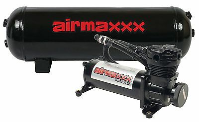 Air Compressor 480 Black 3 Gallon Air Tank Water Drain 165 On 200 Off Switch