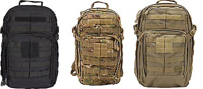 5.11 Tactical Rush 12 Backpack Assorted Colors Black,Multicam, Sandstone