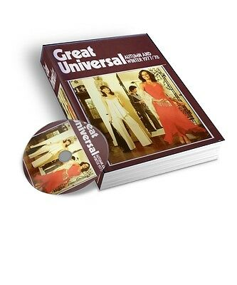 1977-78 Great Universal Mail Order Catalogue Autumn  Winter Pdf & Jpeg On Dvd