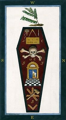 Harris 3rd Degree Tracing Board masonic poster freemason artwork ring