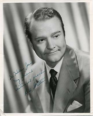 Red Skelton Autograph Comedian Actor In I Dood It Signed Photo