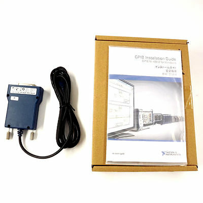 New National Instrumens NI GPIB-USB-HS Interface Adapter controller IEEE 488