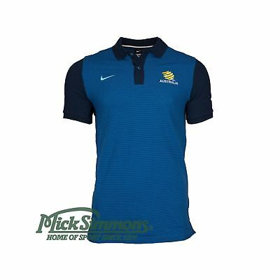 NEW Socceroos 2016/17 Men's Navy Polo by Nike