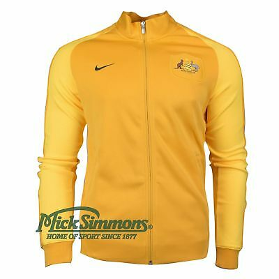 NEW Socceroos 2016/17 N98 Authentic Gold Track Jacket by Nike