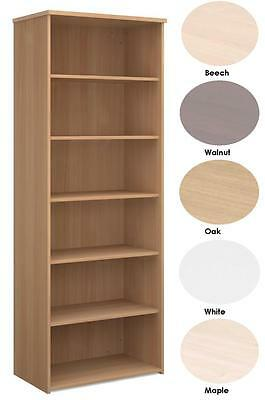 Infinite 5 Shelf Wooden Office Bookcase - FREE DELIVERY