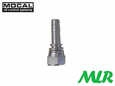 "MOCAL HEF7-8 -8JIC OIL COOLER HOSE PIPE FITTING UNION FOR 1/2"" 13mm HOSE MLR.BBE"