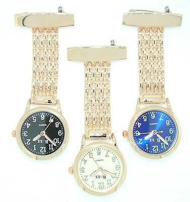 Brand New Rose Gold Nurse Fob Watch by BOXX