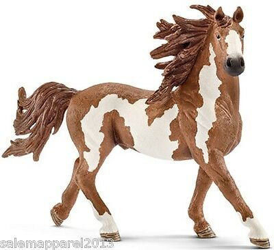 Schleich 13794 Pinto Stallion Horse Figurine - Hand Painted - BRAND NEW
