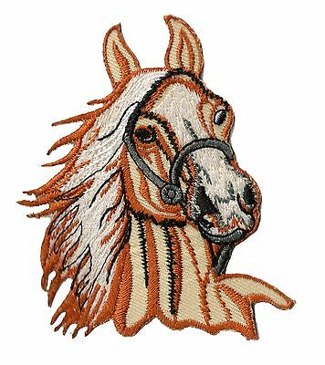 Écusson patche Cheval patch Cavalerie DIY brodé thermocollant