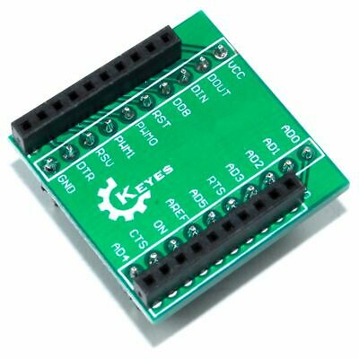 Xbee Adapter Genuine Keyes Module Shield Breakout Arduino Pi Flux Workshop