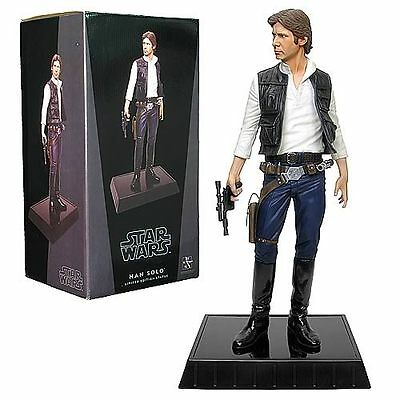 Star Wars HAN SOLO statue~Gentle Giant~Harrison Ford~Darth Vader~R2-D2~NIB
