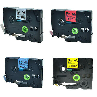 4PK TZe TZ 231 431 531 631 Label Tape For Brother P-Touch PT-E550W PT-H100 E500