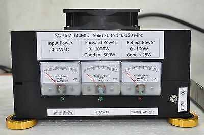 140-150Mhz VHF Booster Linear Amplifier 2m 144Mhz Output 1000 Watts In 4 Watts