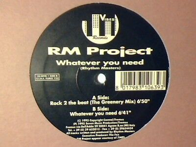 RM PROJECT Whatever you need 12""