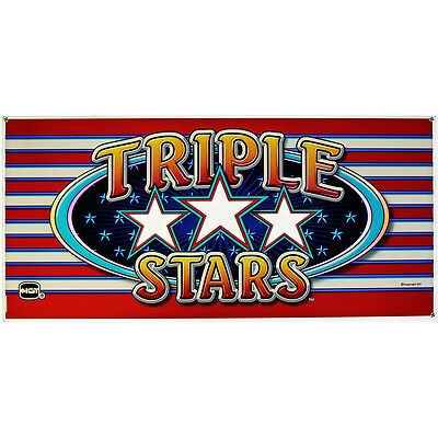 IGT Belly Glass, Triple Stars-(842-611-00)